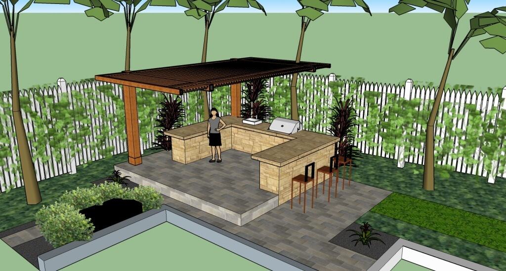 Outdoor Kitchen Designs Lombardo Landscaping