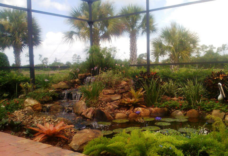 Waterfalls Fountains Amp Koi Ponds Lombardo Landscaping