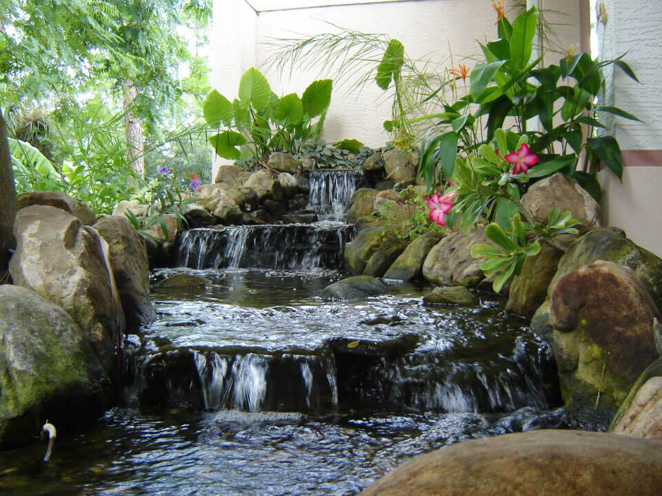 Waterfalls, Fountains U0026 Koi Ponds