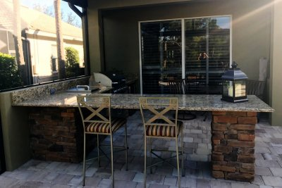 Outdoor Kitchen Estero Florida